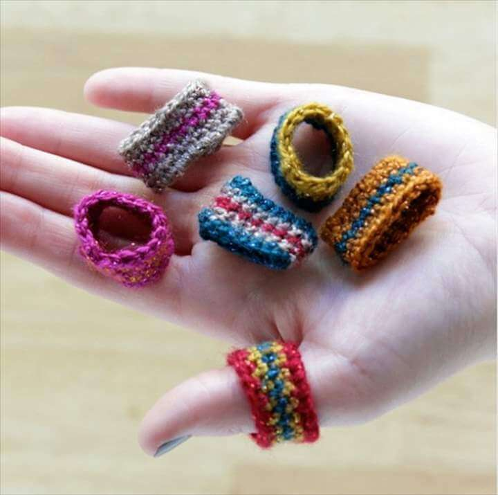 DIY Ring Crochet Patterns