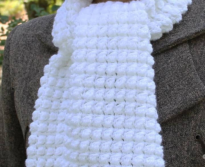 easy crochet scarf patterns