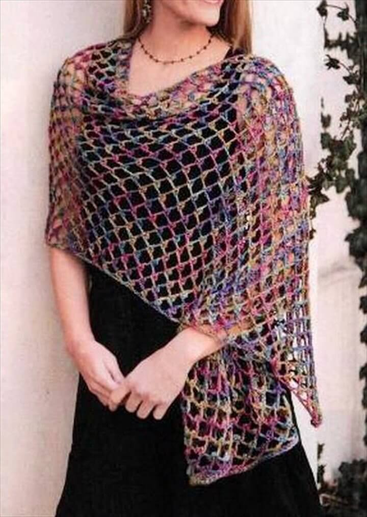 Free Crochet Shawl Patterns For Beginners