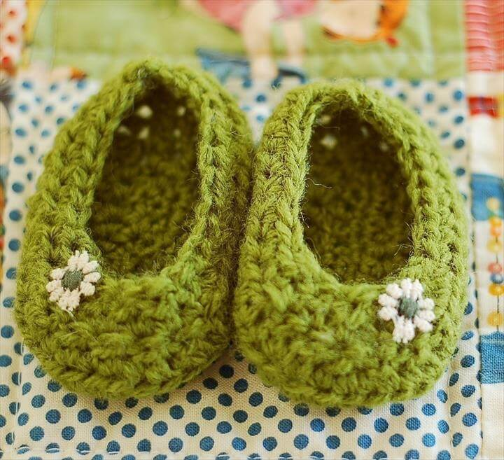 Easy Crochet Slippers For Beginners Free Patterns