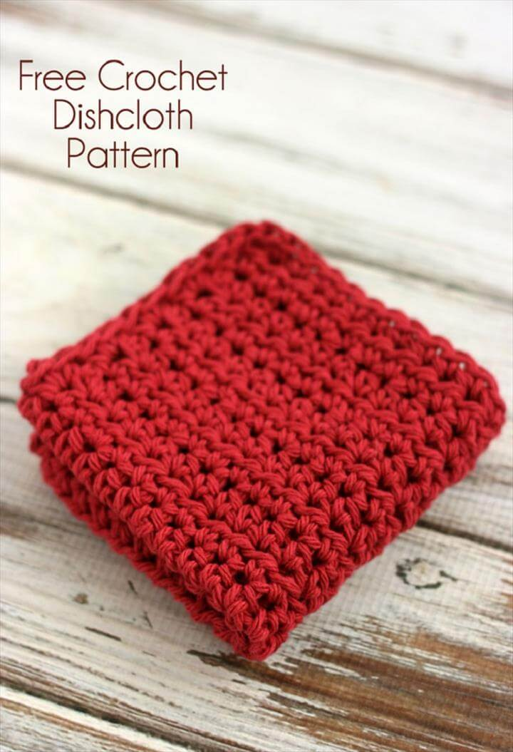 Dishcloth Crochet Pattern for Beginners