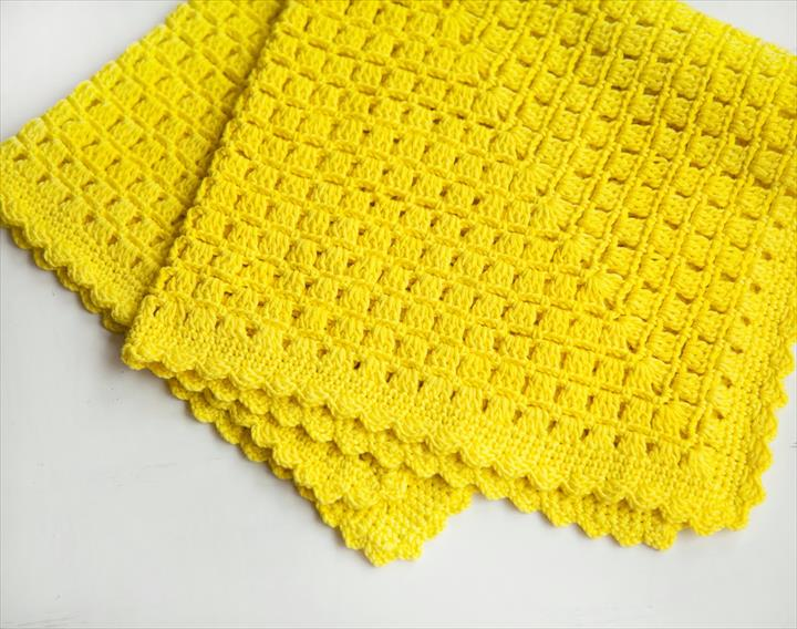 easy blanket crochet patterns for beginners