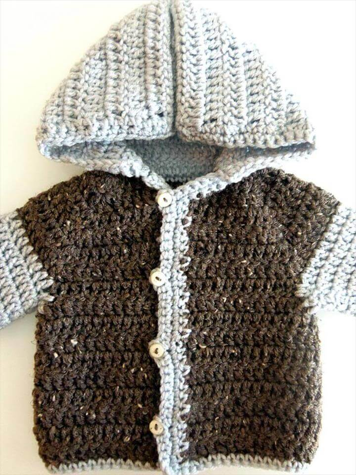 Cardigan Crochet Patterns For Beginners