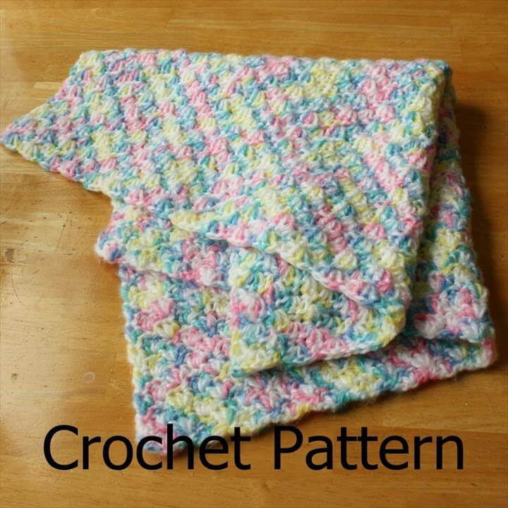 easy crochet patterns afghans beginners