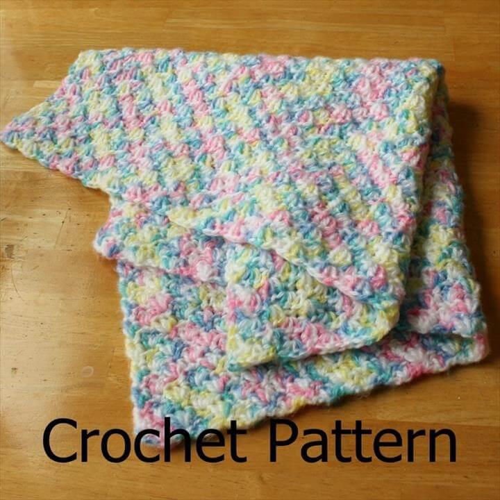 easy crochet patterns afghans beginners