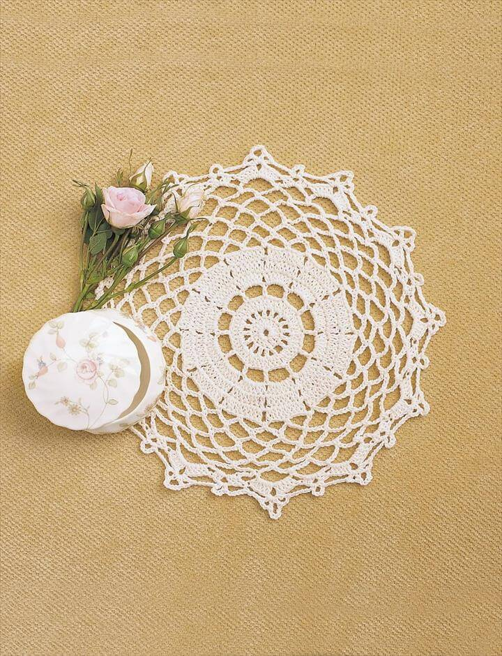 Pretty Doily Crochet Pattern
