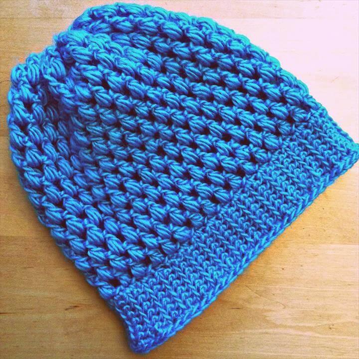 Sew Creative Crocheted Kids Slouch Hat Pattern