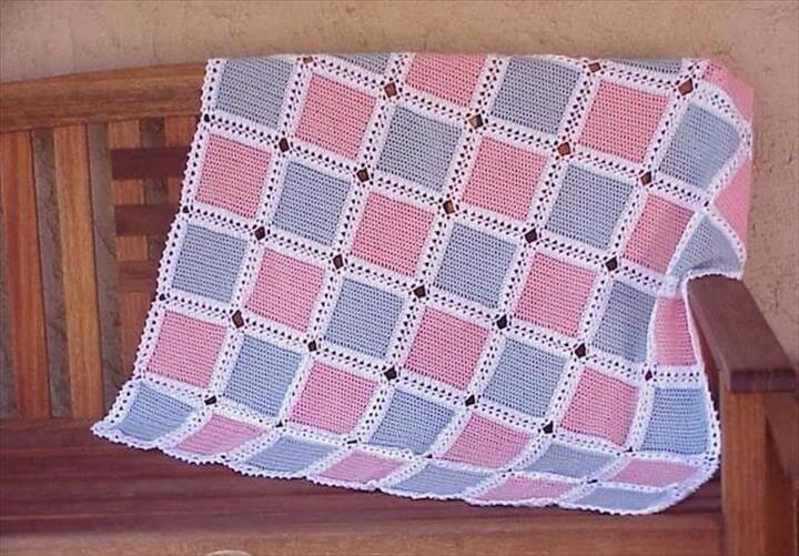 Crochet Patterns For Beginners Crochet Baby Blanket Pattern
