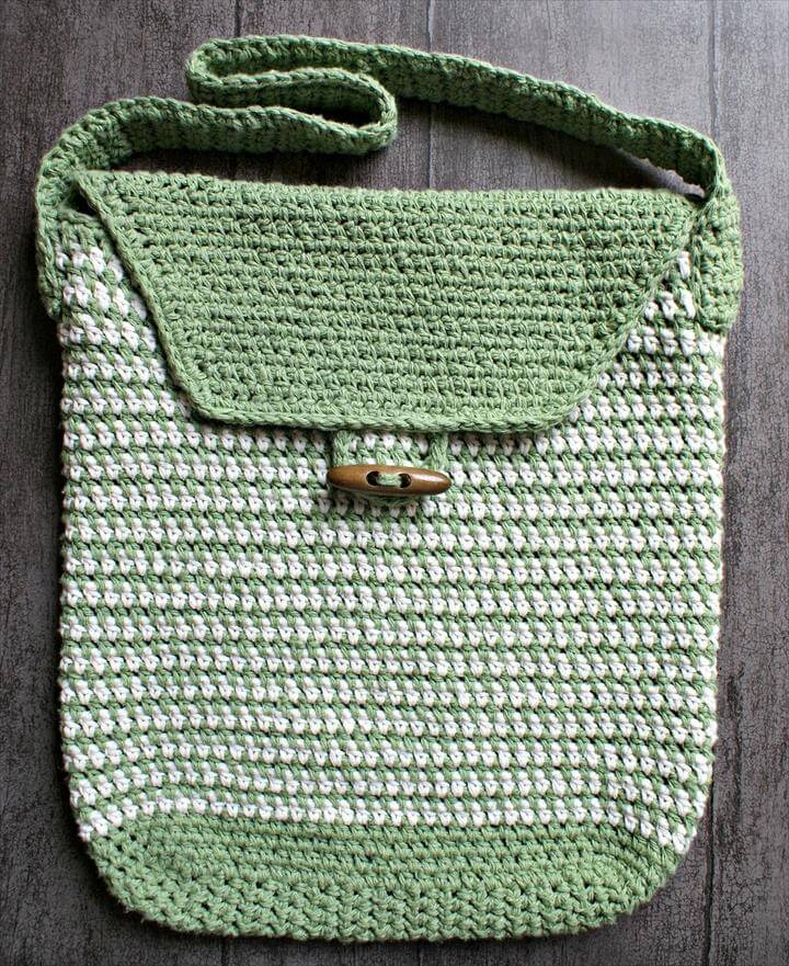 Work Satchel Crochet Bag Pattern