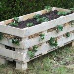 16 Awesome Pallet Garden Planter Ideas