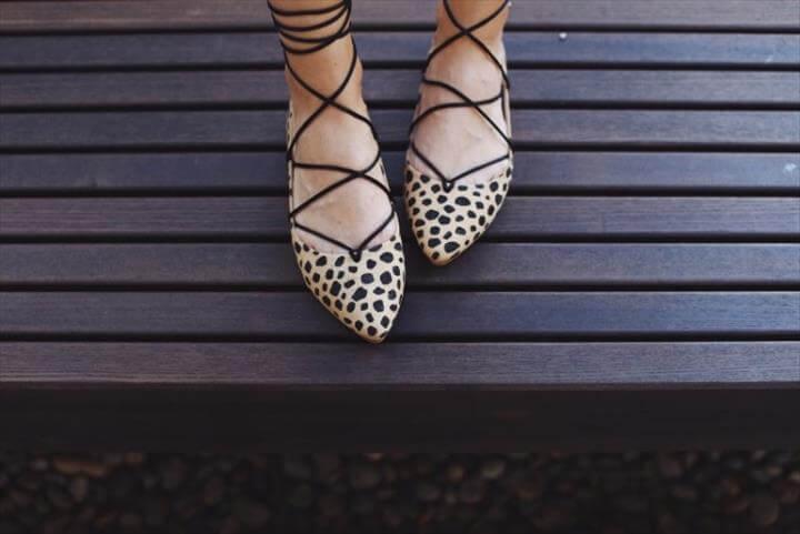hand paint shoe