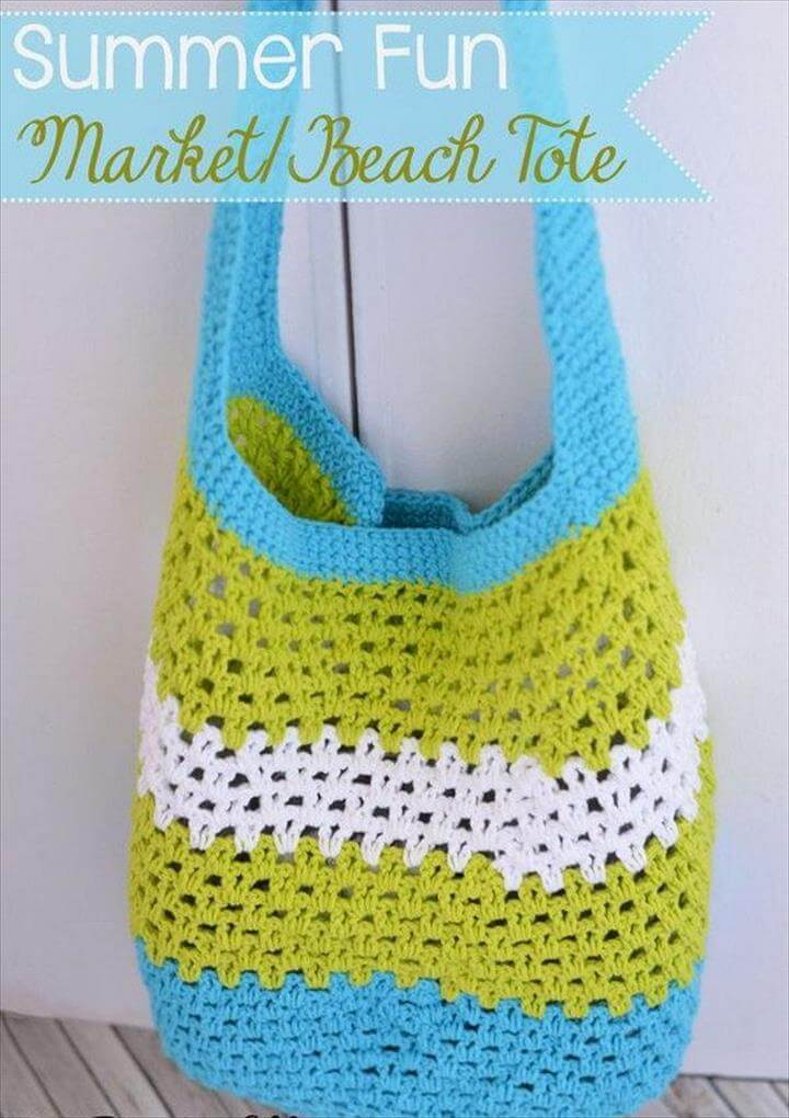 Summer Fun Market/Beach Tote