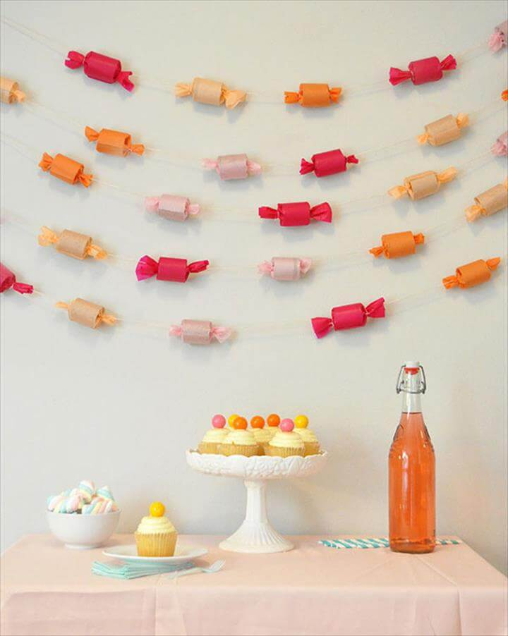 DIY Candy Garland