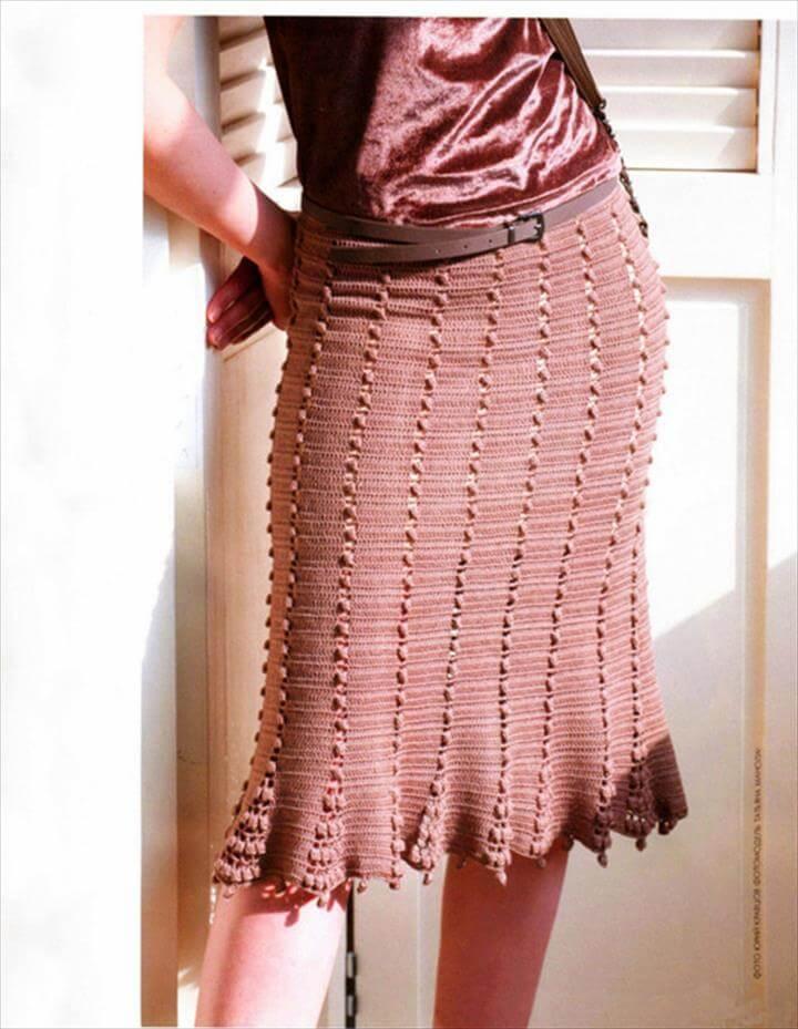 http://www.favecrafts.com/Crochet/Crochet-Skirt-from-Naturally-Caron