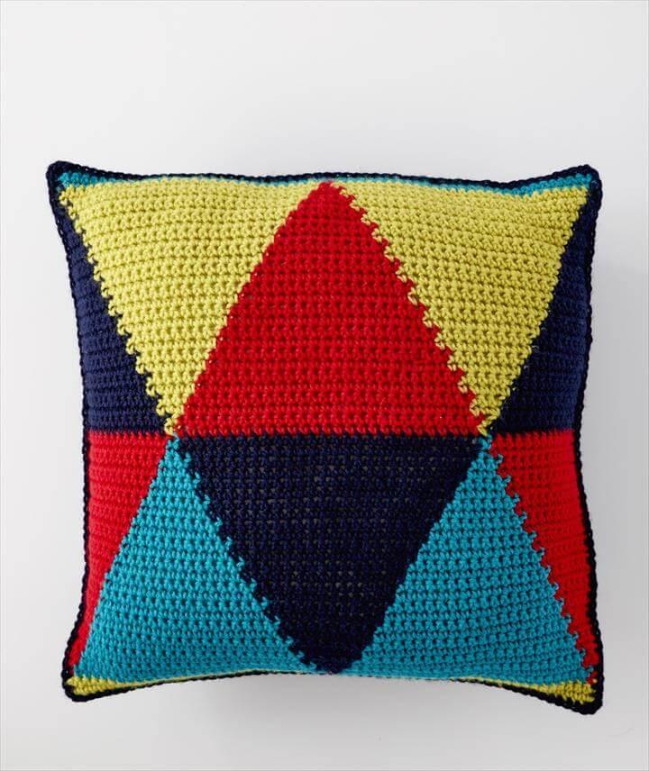 Bold Angles Pillow