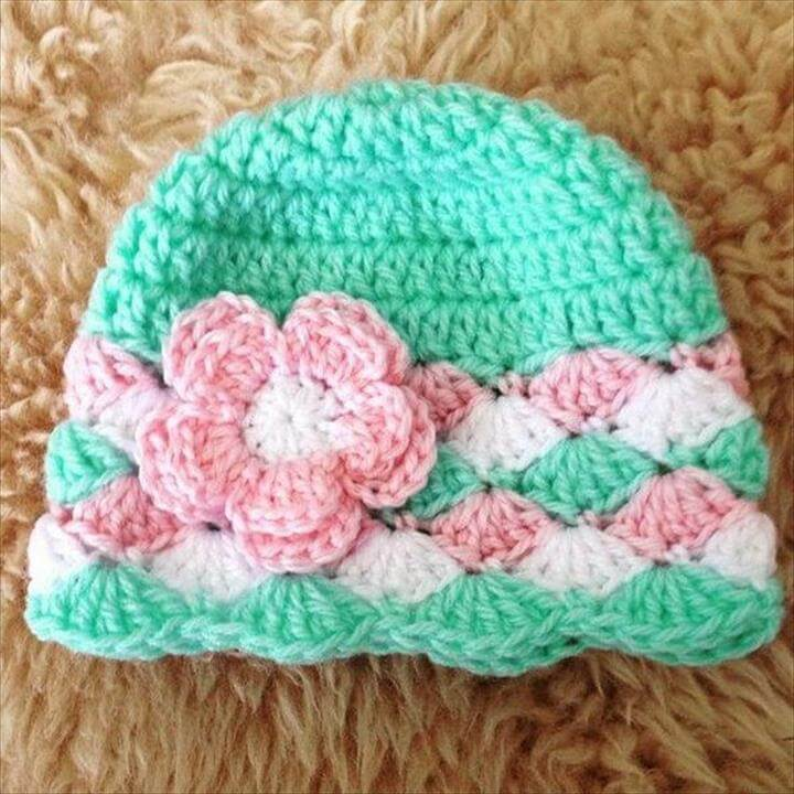 Easy Crochet Hats with Free Tutorials