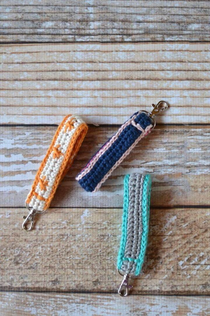 FREE Crochet Pattern: Crochet Key Fob