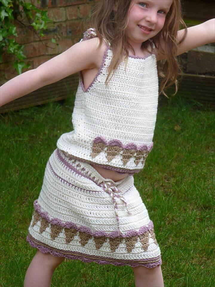 Enchanting Crochet Skirt Pattern