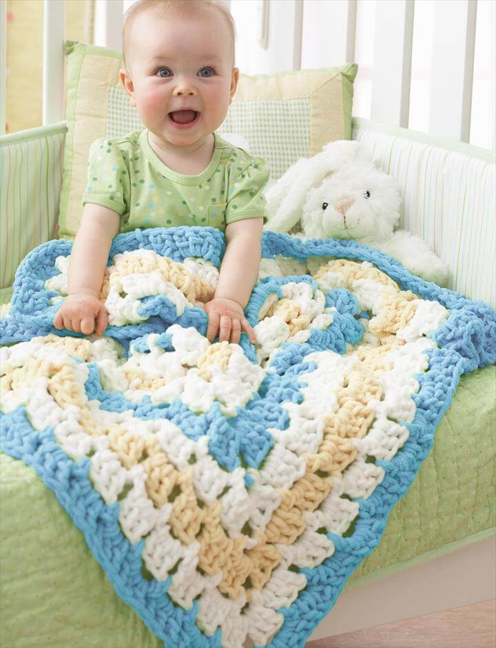 Middle Baby Blanket