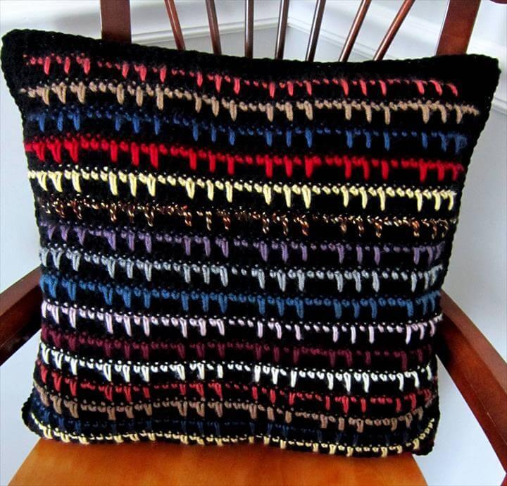 Crochet Pattern for Pillow