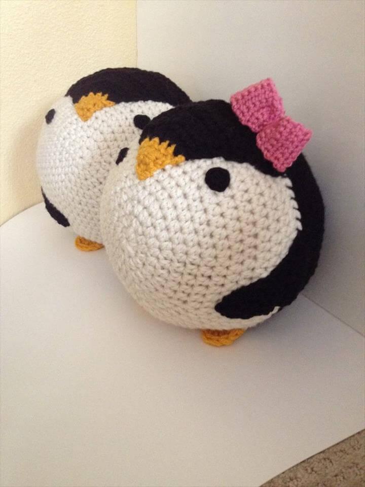 crochet pattern penguin