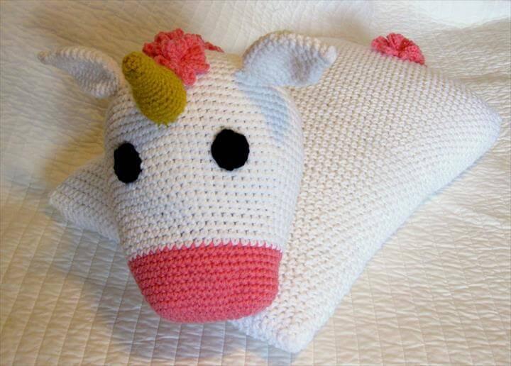 Crochet Pillow Animal