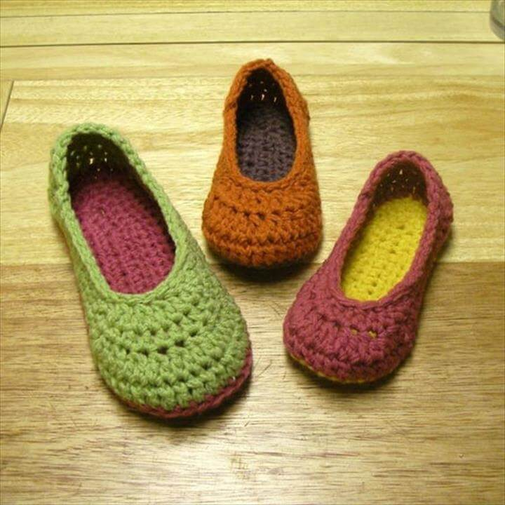 crochet shoe pattern