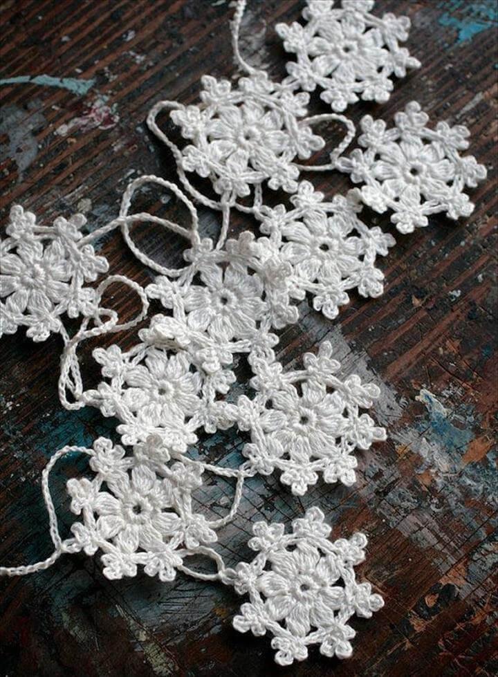 Crochet Garland Small