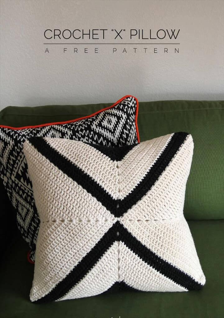 simple crochet pilows