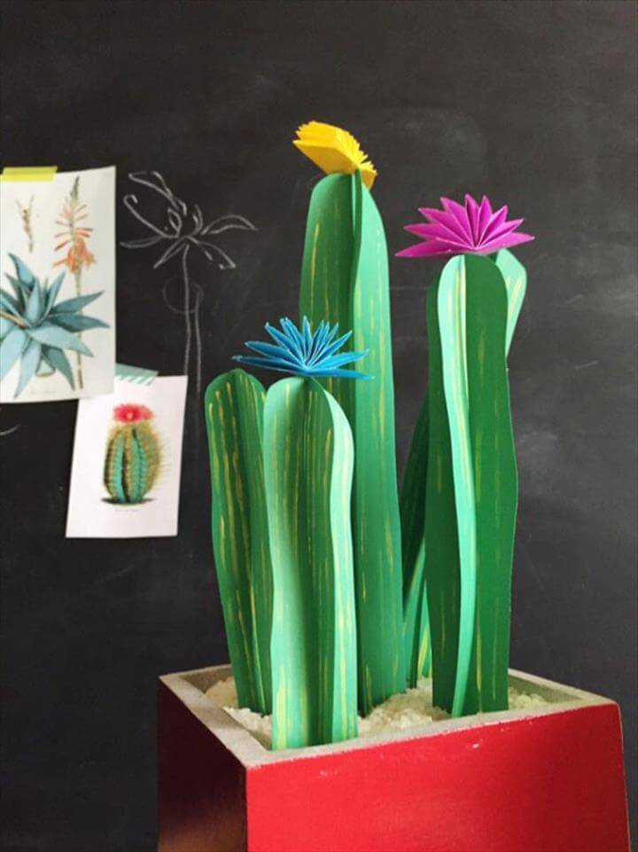 Cute Kid-Friendly Cactus Crafts