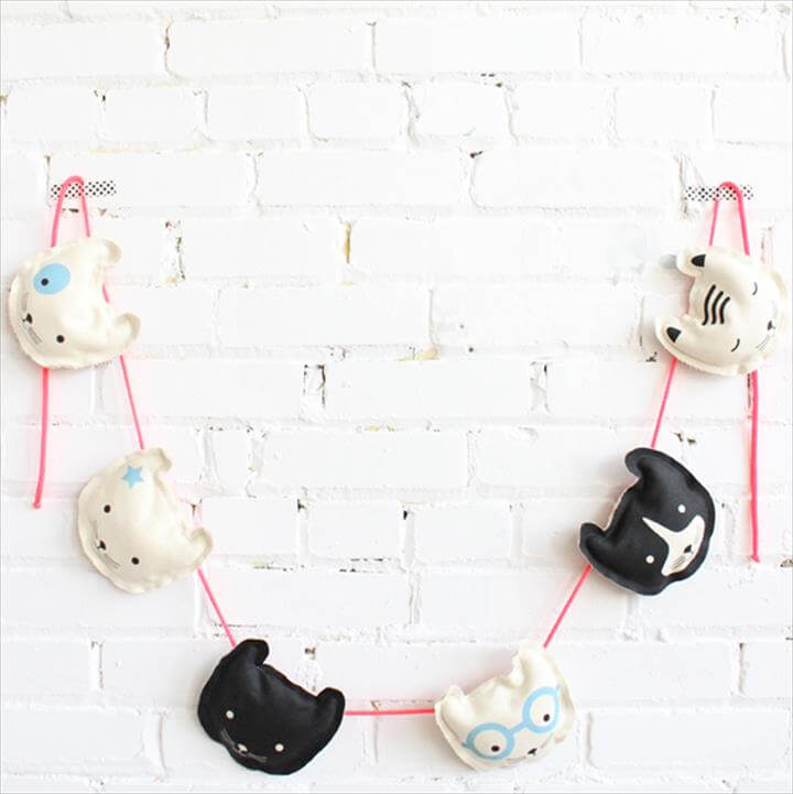 DIY Cat Garland Kit