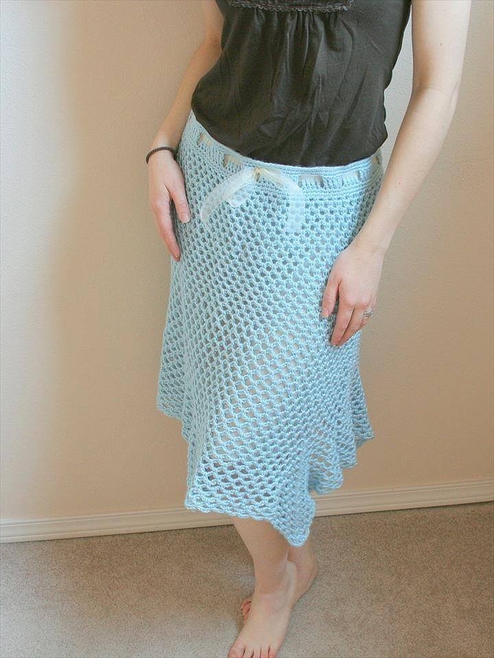 15 Amazing Crochet Skirt Free Pattern