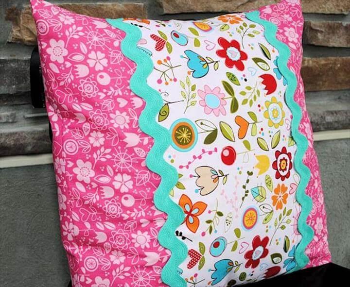 DIY Pillows and Fun Pillow Projects - DIY Envelope Pillow Tutorial - Creative, Decorative Cases