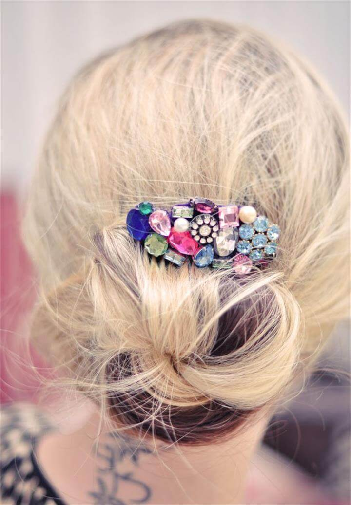 DIY Wonderful Handmade Hair Accessories for Girls