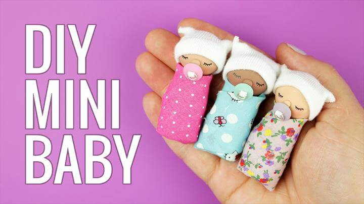 DIY miniature Baby | DIY Miniature doll baby pacifier
