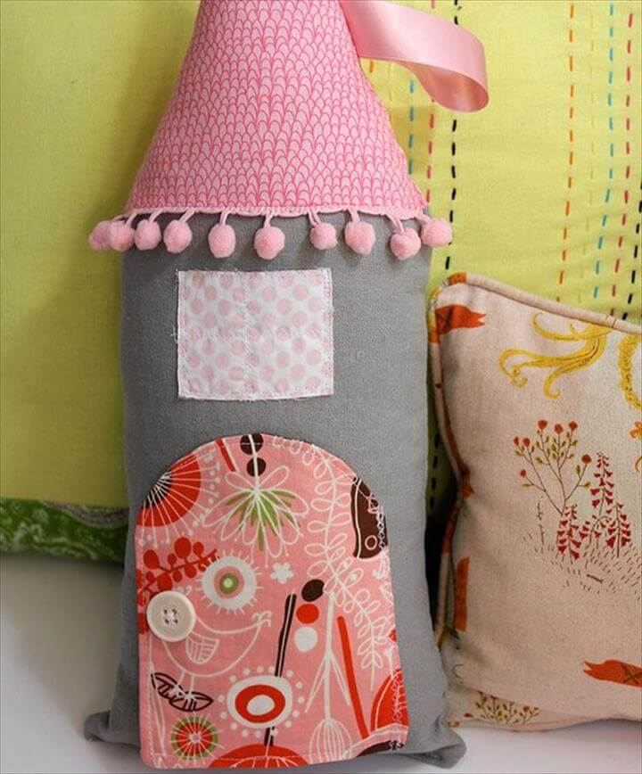 DIY Pillow for Kids – Girls Bedroom Decor Ideas