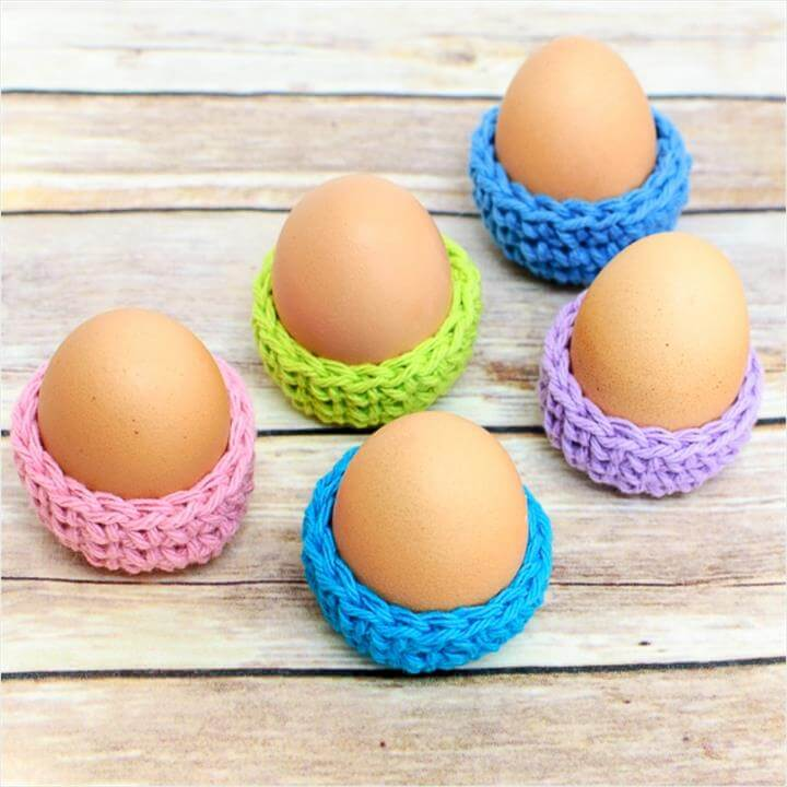 Free Crochet Patterns For Dressing Up Your Adorable Easter Eggs