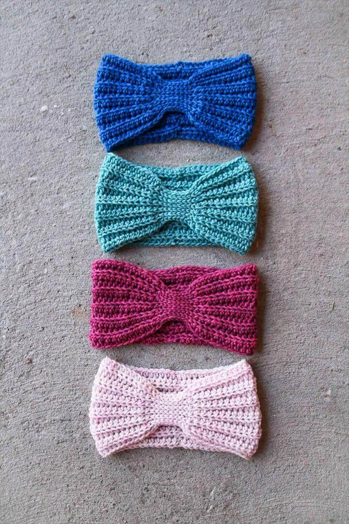 Crochet headband pattern and Headband pattern
