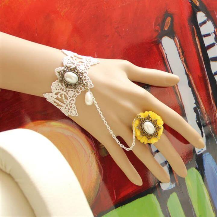 Fabulous Colorful Crochet Bangles, Necklace, Rings and Hair Accessories