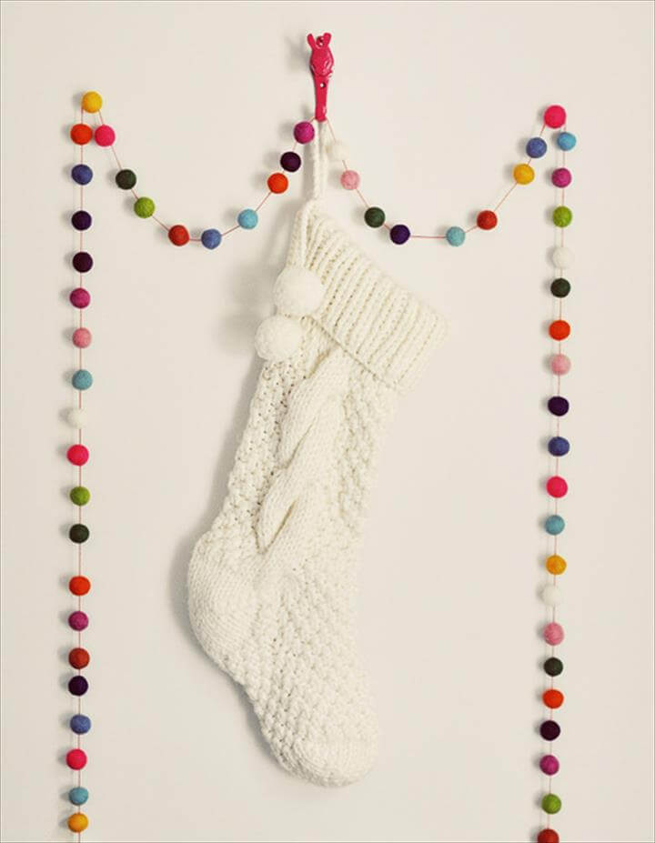 Fabric Tassel Garland from Prudent Baby