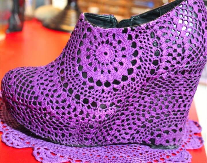 doily shoe