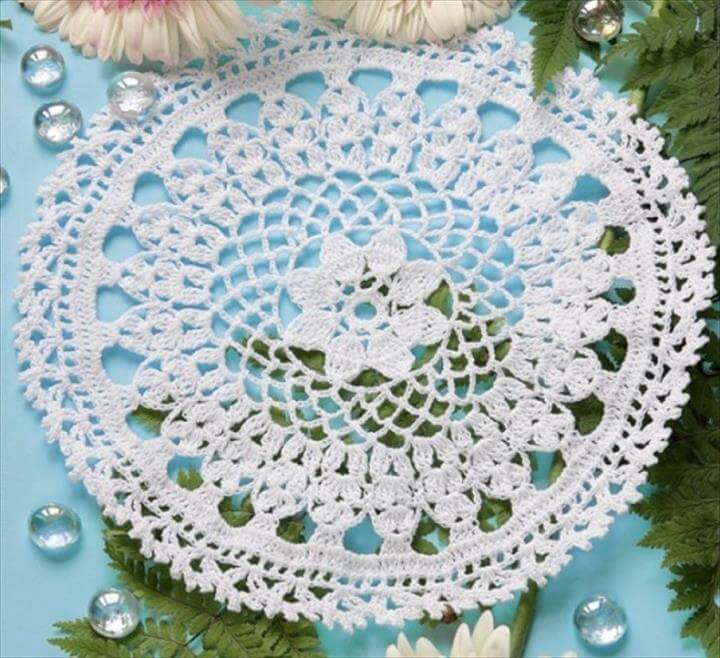 Free Crochet Round Doily Patterns