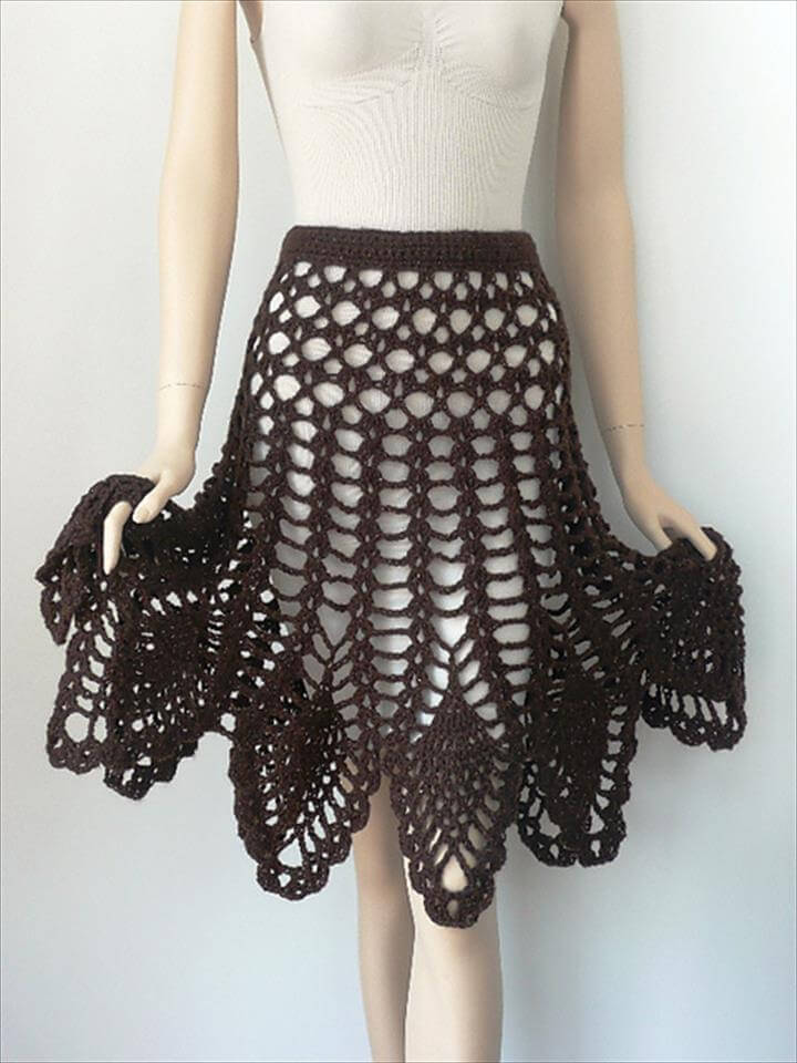 15 Amazing Crochet Skirt Free Pattern Diy To Make