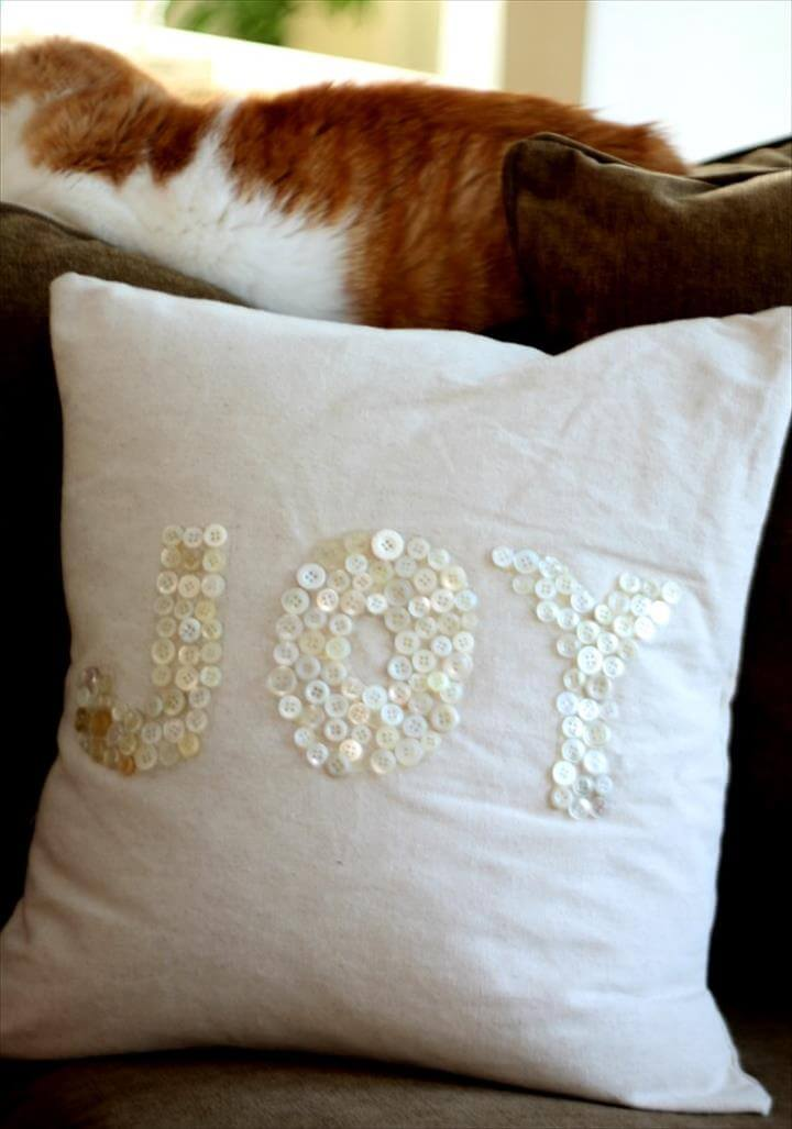 25 Fun Amp Easy Diy Pillow Ideas Amp Tutorials Diy To Make