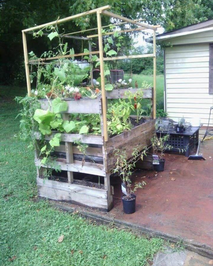 Pallet Garden Planter Pallet Planters & Compost Bins
