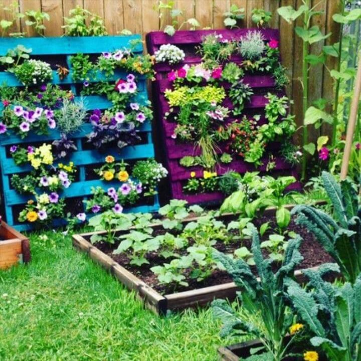 16 Awesome Pallet Garden Planter Ideas For Your Garden