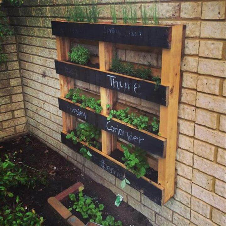 amazing pallet planters ideas