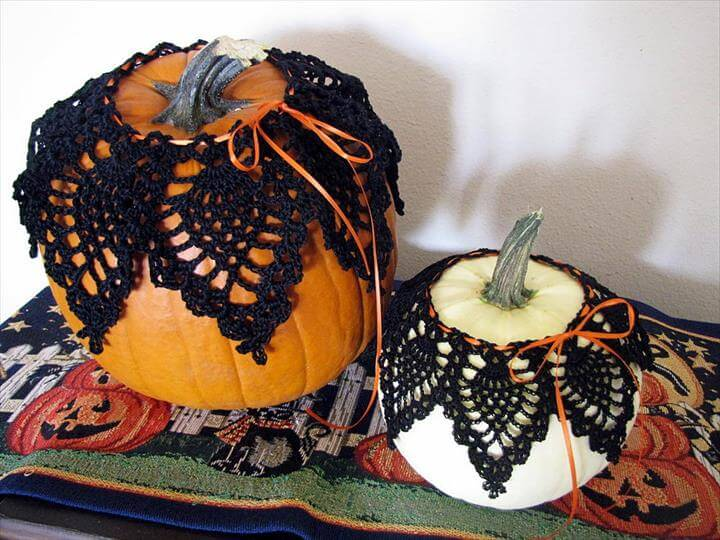 Pineapple Pumpkin Crochet Lace Pattern