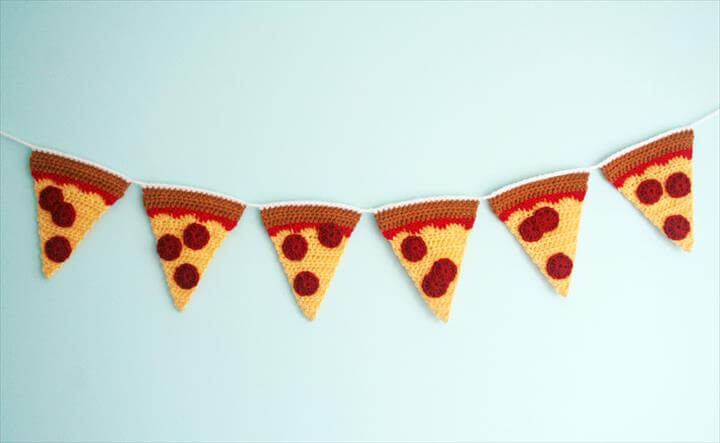 Pizza Garland Finished