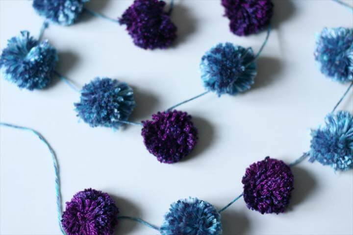 Pom Pom Garland Tutorial - Project Nursery